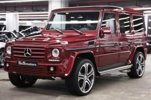 Mercedes G-Serisi -1