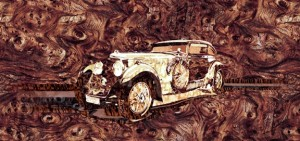 4-Bentley Mulsanne Speed Blue Train