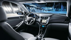 Hyundai Accent Blue Ic Mekan
