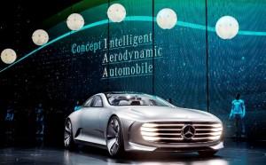 Mercedes-Benz Concept Intelligent Aerodynamic Automobile