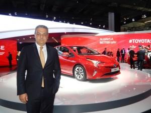 Toyota Turkiye Paz. ve Satis A.S. CEO'su Ali Haydar Bozkurt, Prius