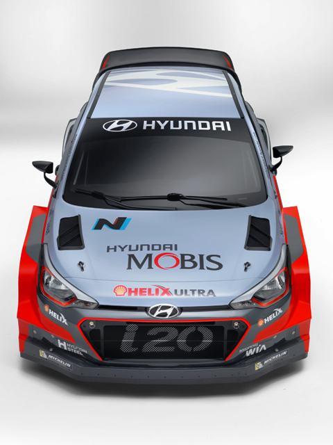 2016 Hyundai i20 WRC-4