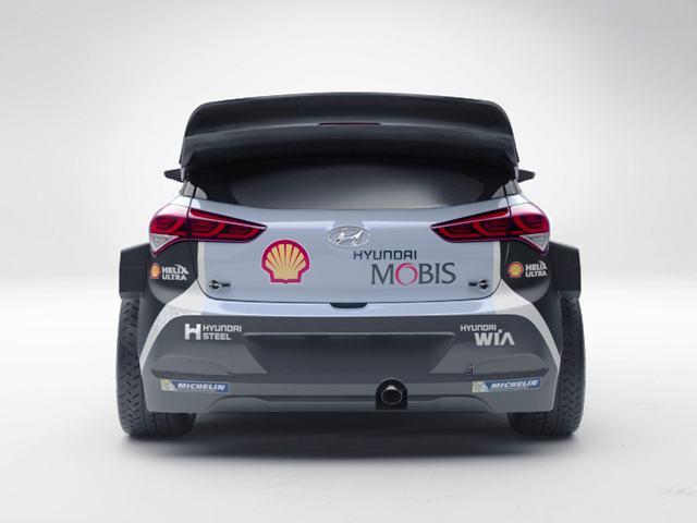 2016 Hyundai i20 WRC-5