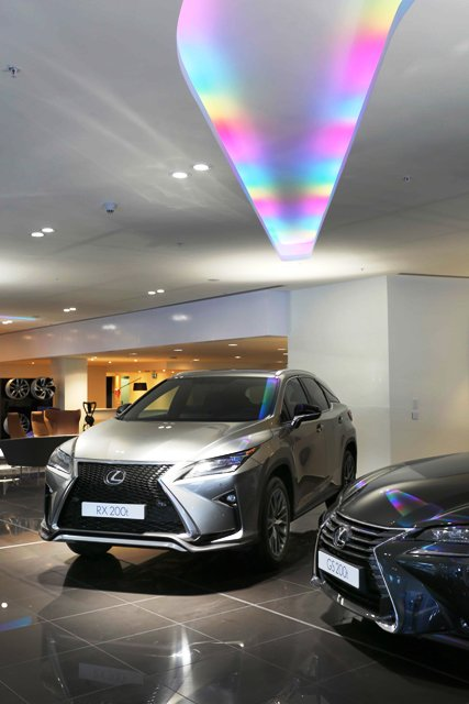 Lexus Showroom.