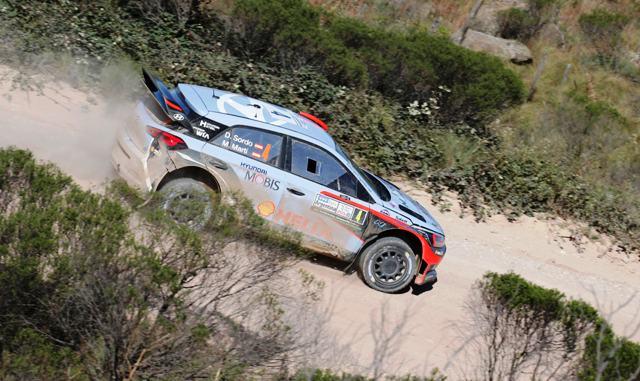 Hyundai i20 WRC- Sordo